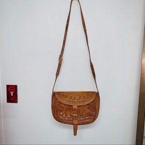 100% Handcrafted Leather Crossbody bag